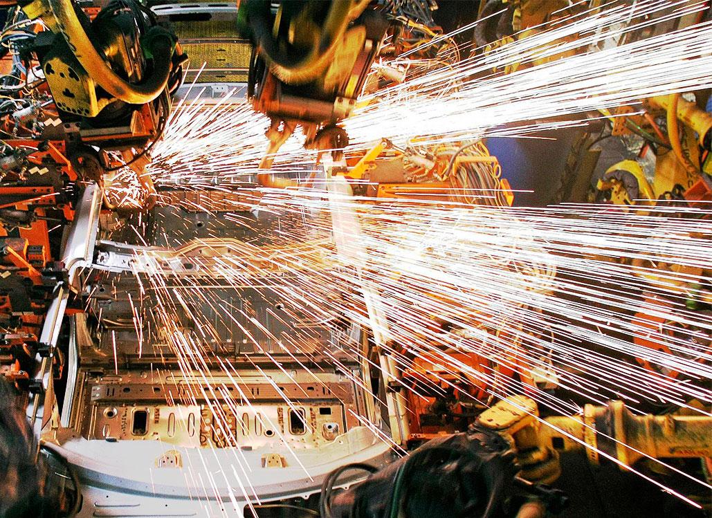 白車身焊接生產線