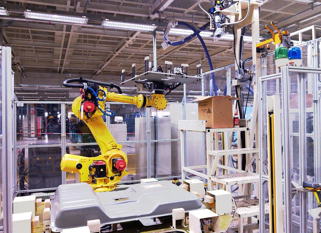 機器人自動化涂膠